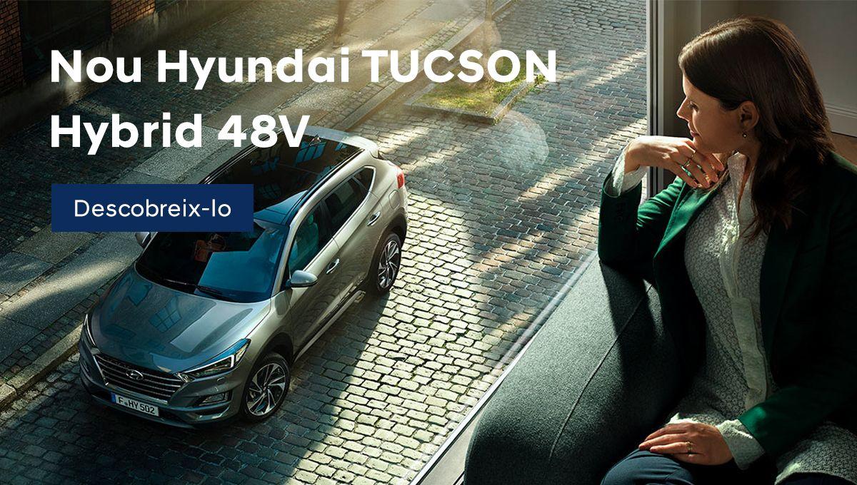 Nuevo Hyundai TUCSON Híbrido 48V