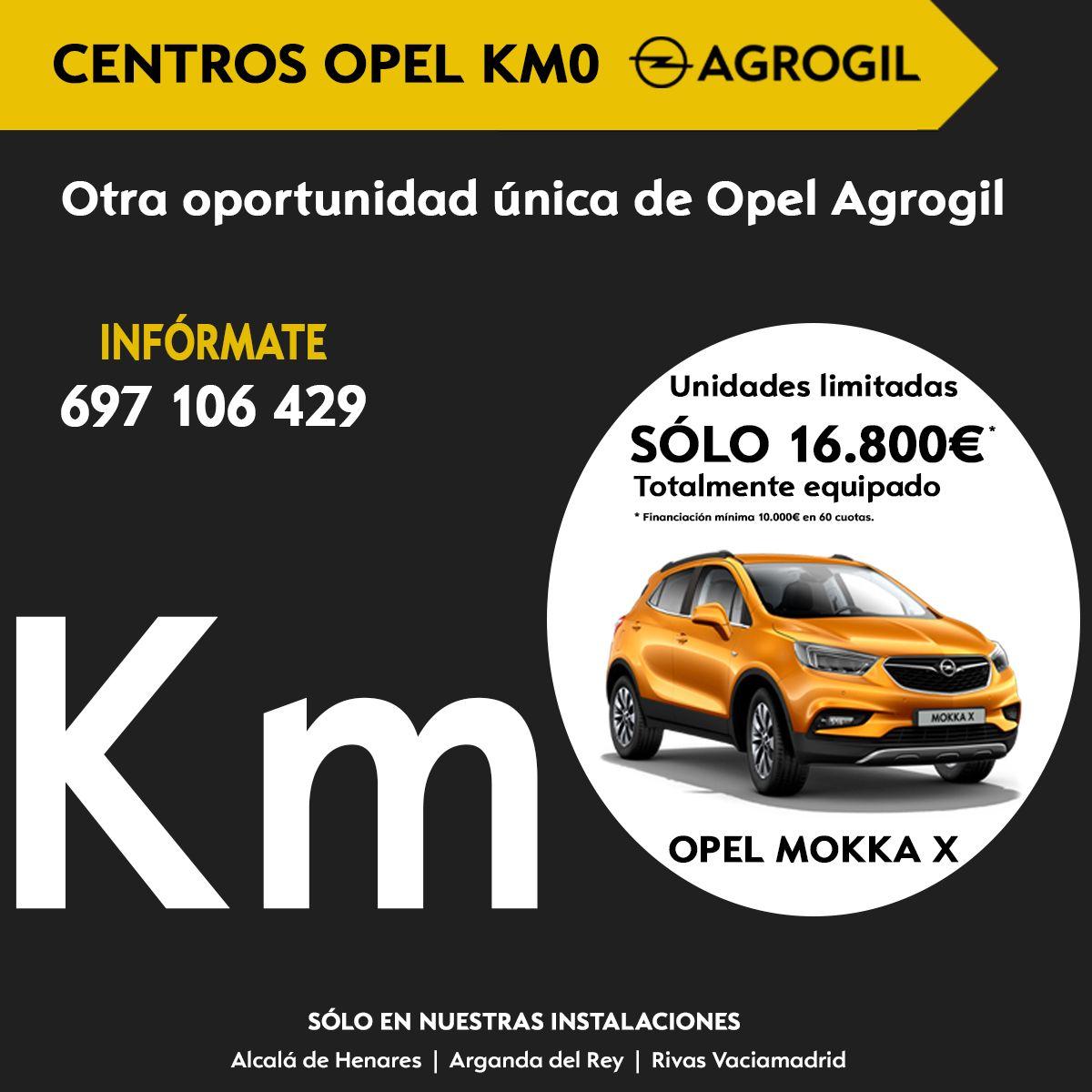 Mokka X km0 desde 16.800€