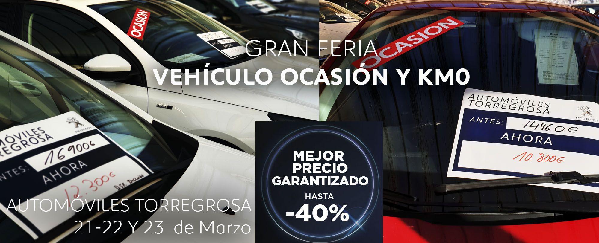 Feria ocasión y km0 Automóviles Torregrosa