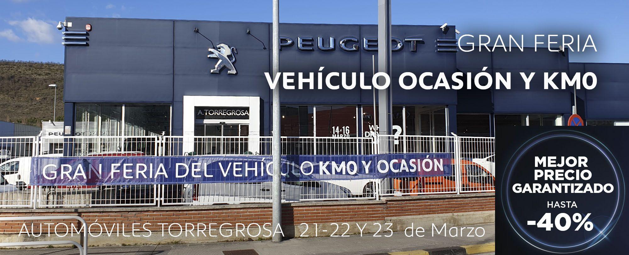 Gran feria del vehiculo de ocasion y Km0 Automóviles Torregrosa
