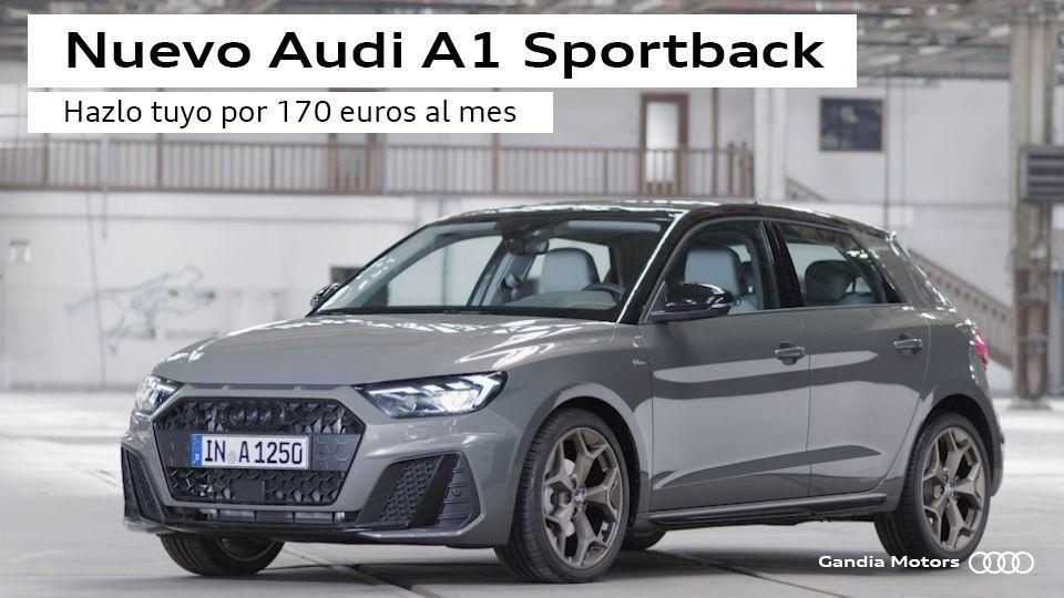 Audi A1 Sportback por 170 euros al mes