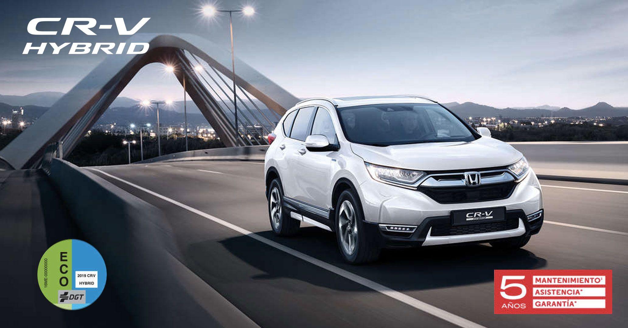 Nuevo Honda CR-V Híbrido desde 295€*al mes