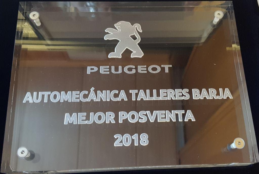 PREMIO SERVICIO POSVENTA 2018