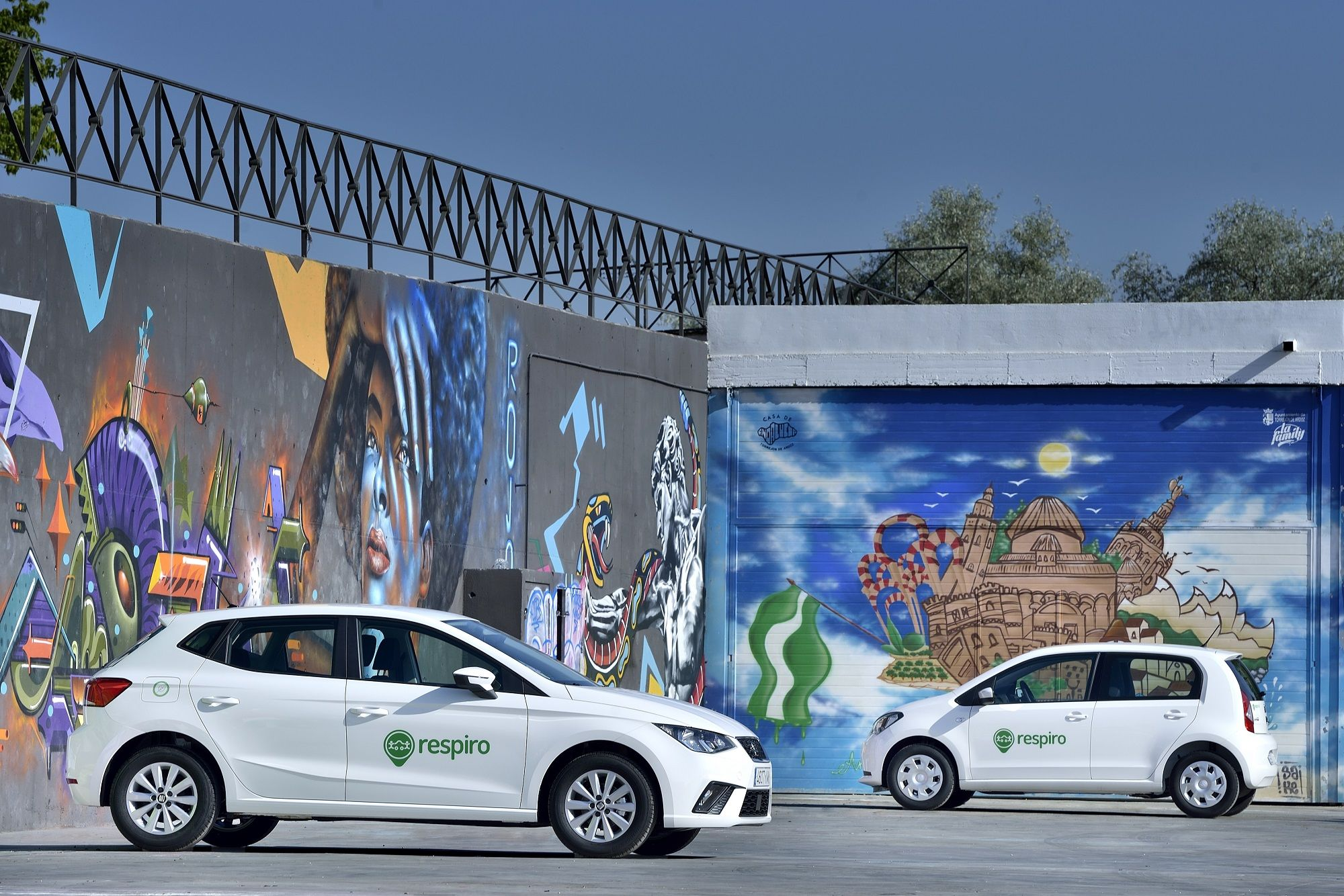 Respiro renueva sus coches con etiqueta ECO para acceder a Madrid Central