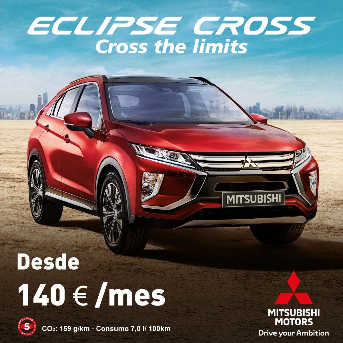 ¿Quieres un Mitsubishi Eclipse Cross por 140€ al mes?