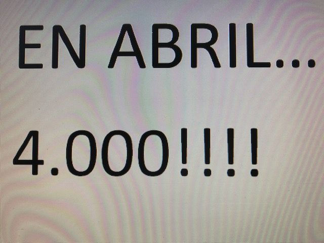 En Abril, 4.000€!