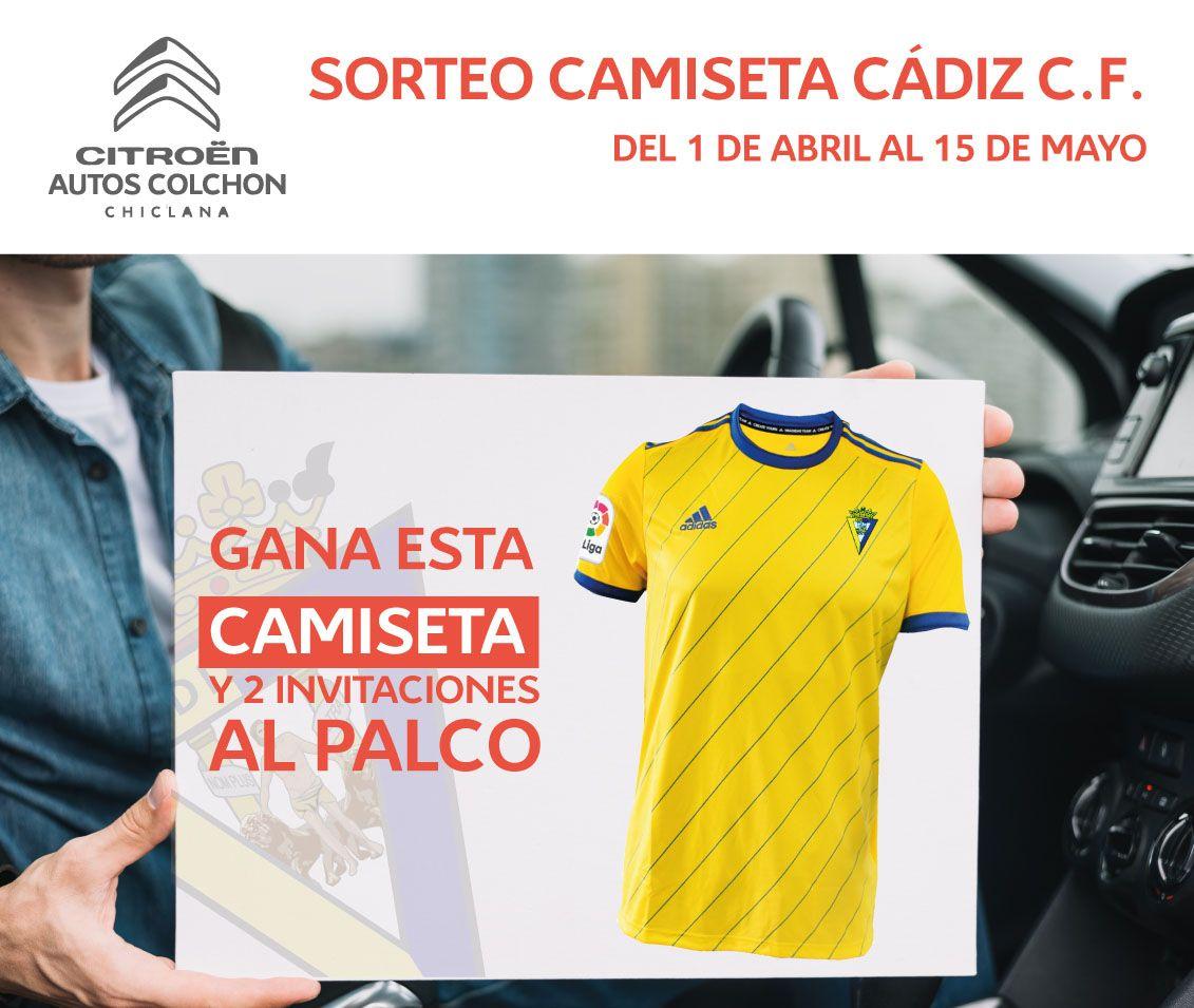 Sorteo Camiseta Cádiz C.F.