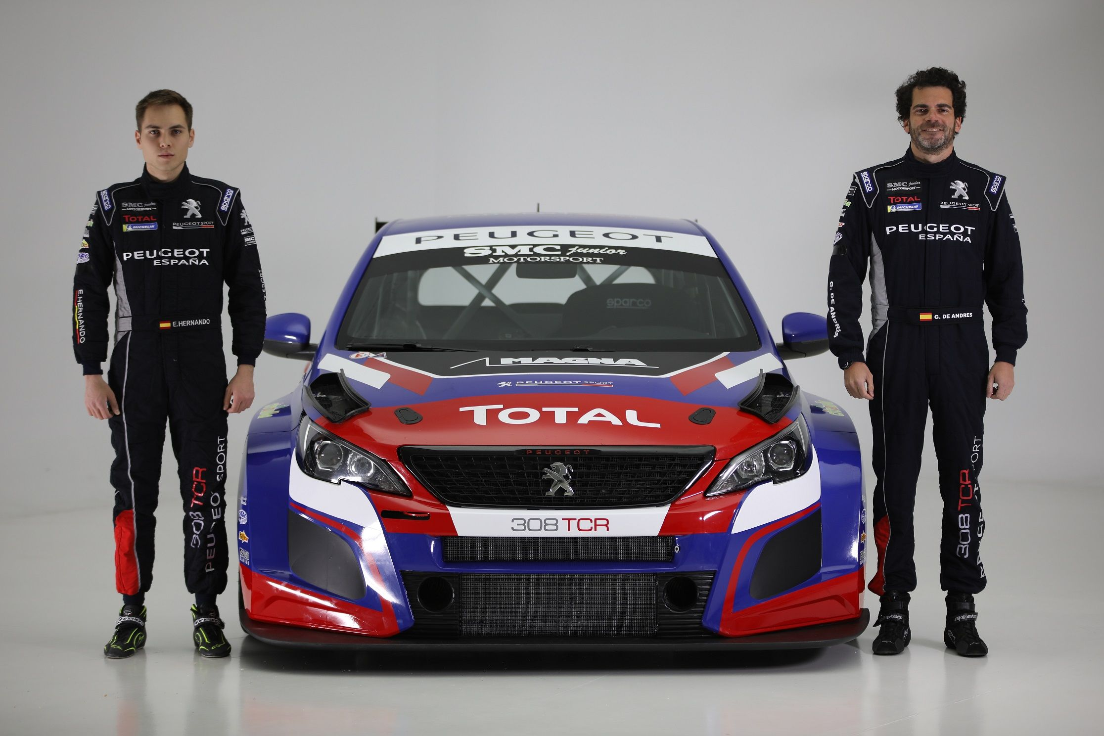El Peugeot 308 TCR, a la conquista del TCR CER con Gonzalo de Andrés y Enrique Hernando