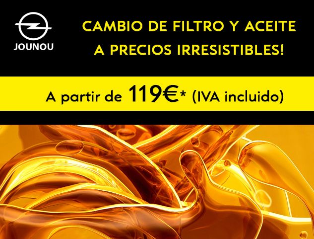 CAMBIO DE ACEITE+FILTRO A PRECIOS IRRESISTIBLES!