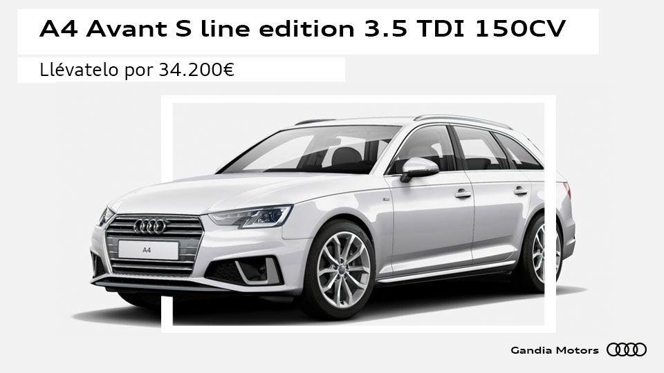 Audi A4 Avant por 34.200 euros