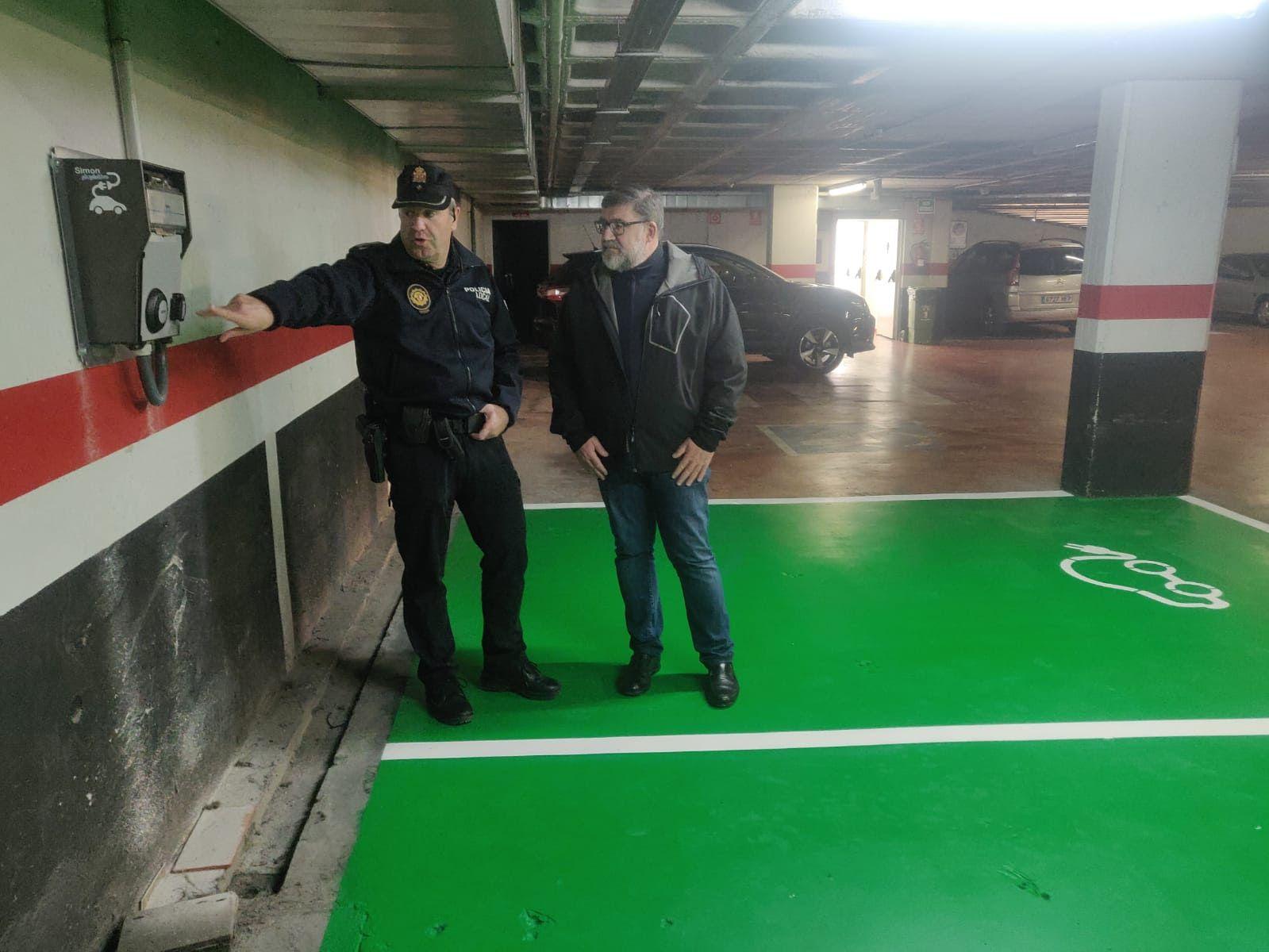 Vinaròs dispone de dos puntos de carga para vehículos eléctricos