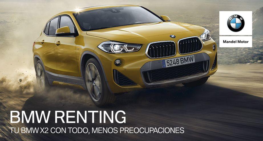 Renting BMW X2
