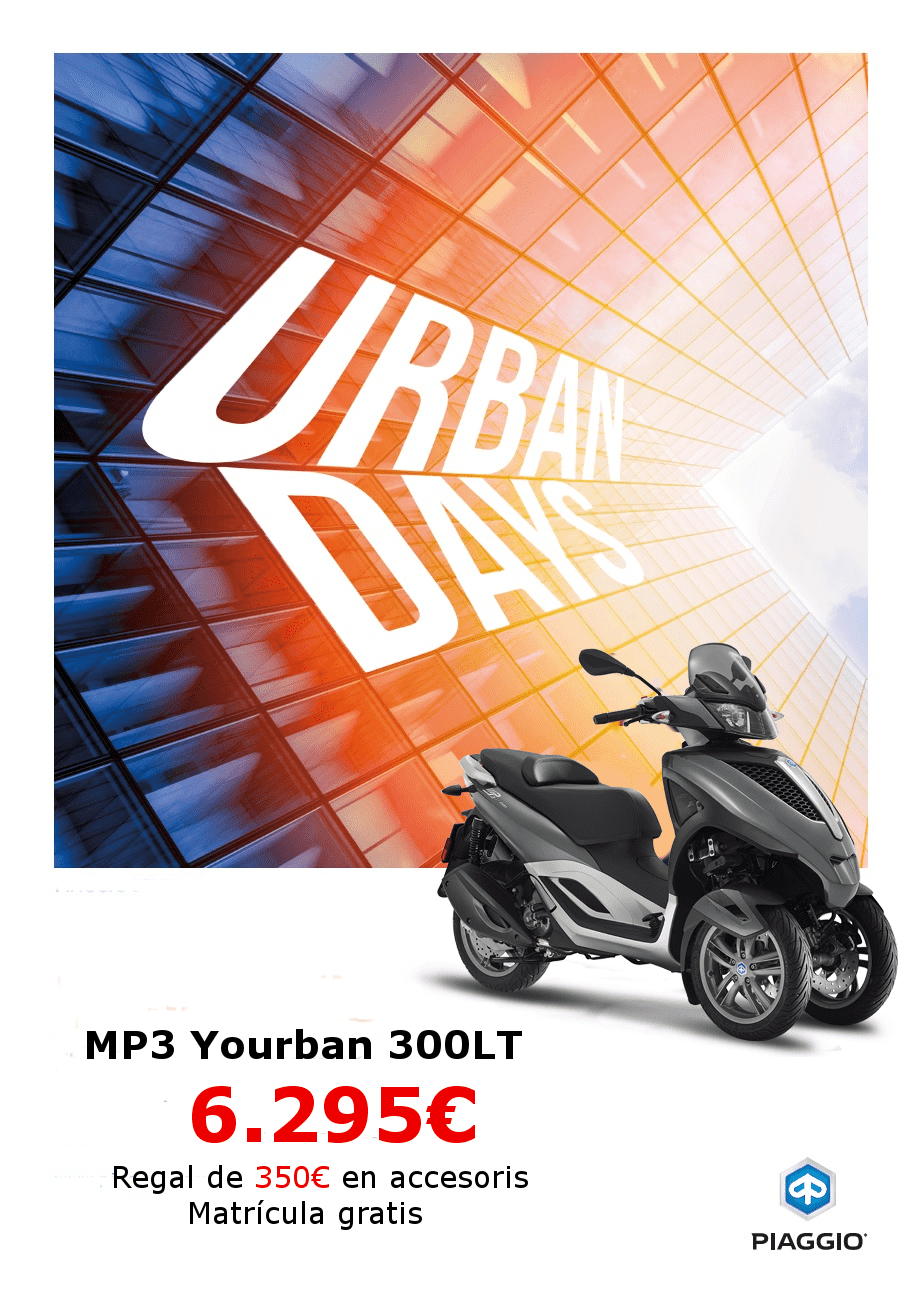 URBAN DAYS  MP3 YOURBAN CON CARNET DE COCHE