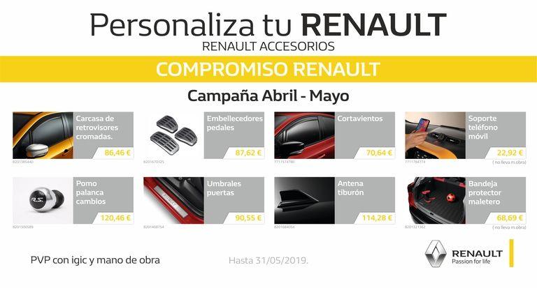 Personaliza tu Renault