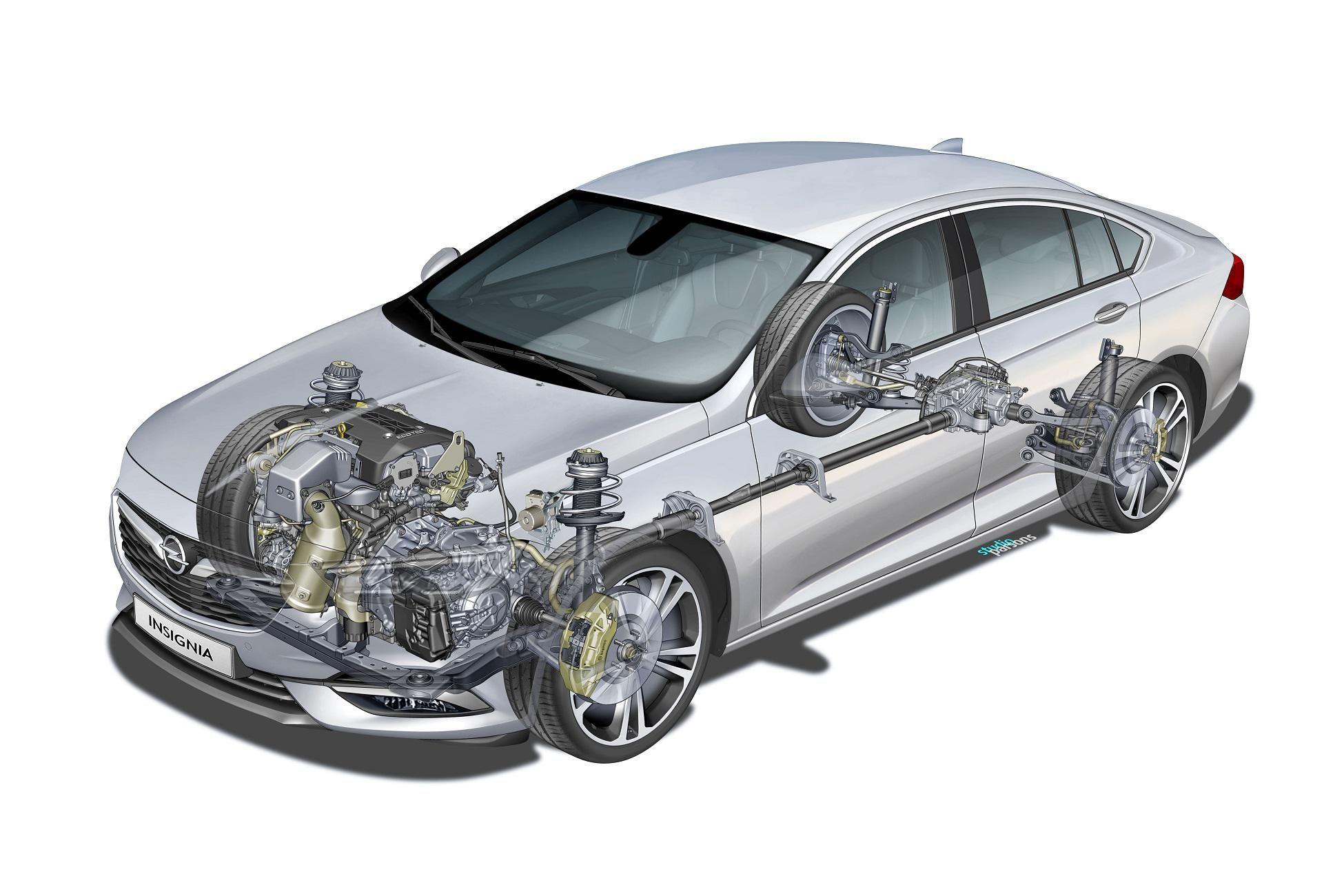 Opel Insignia ganador del título `coche con tracción total del año 2019´, por Autobild