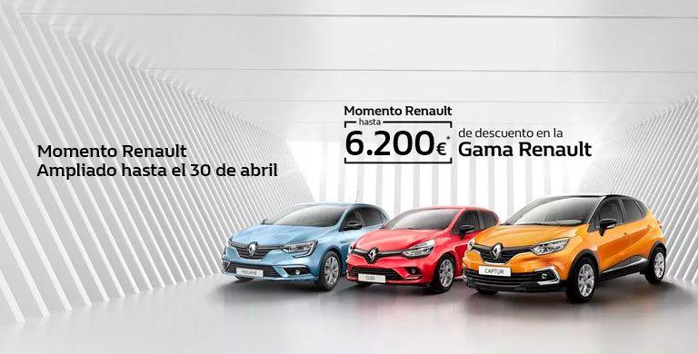 Momento Renault  hasta 30/04/2019