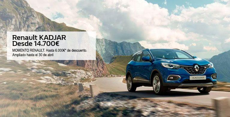 Renault KADJAR hasta 30/04/2019.