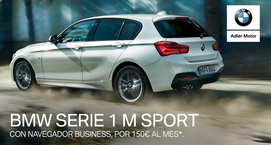 BMW Serie 1 por 150€/mes