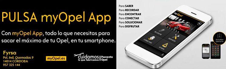 Nueva APP myOpel