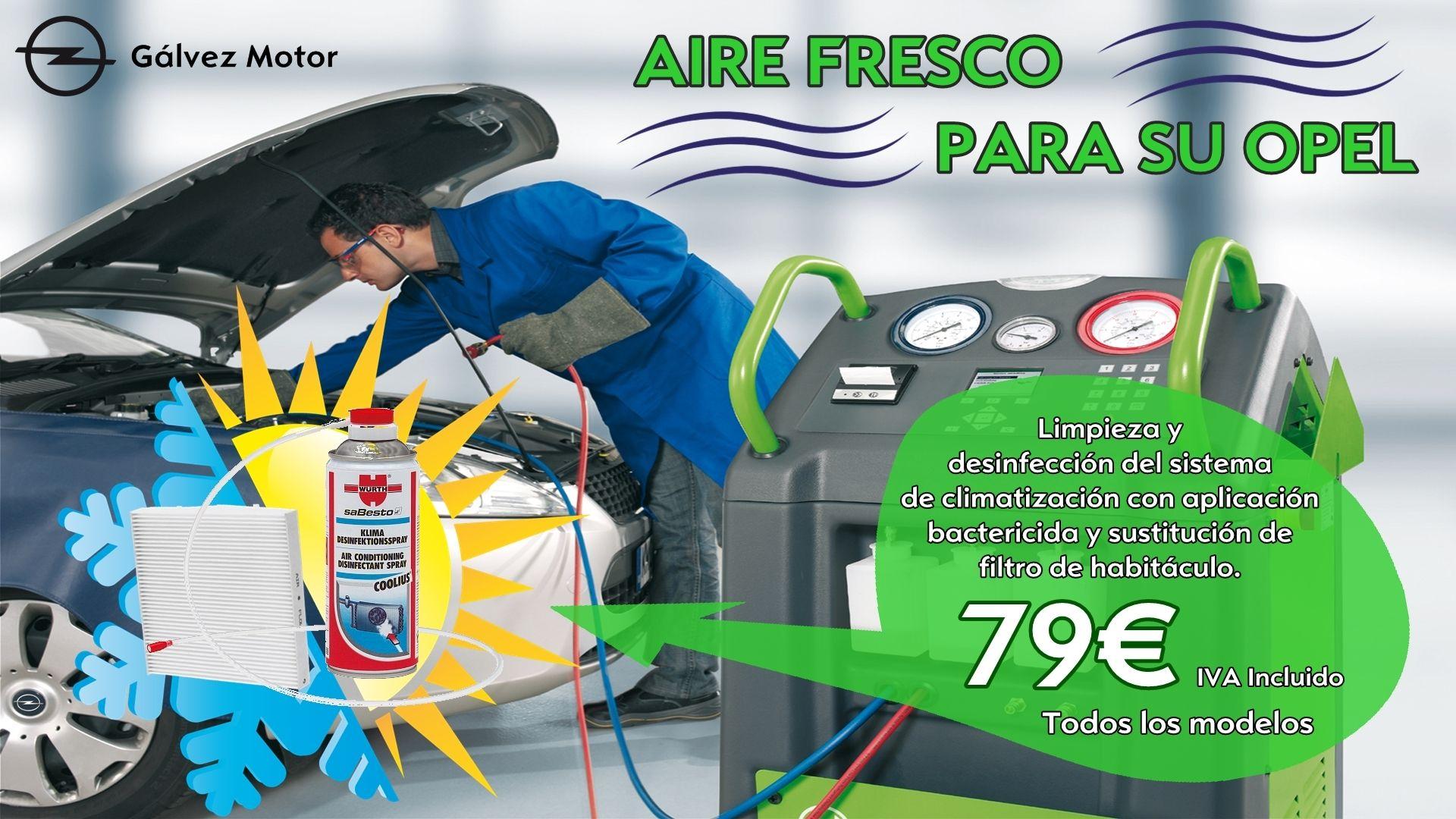 Aire Fresco Para Su Opel