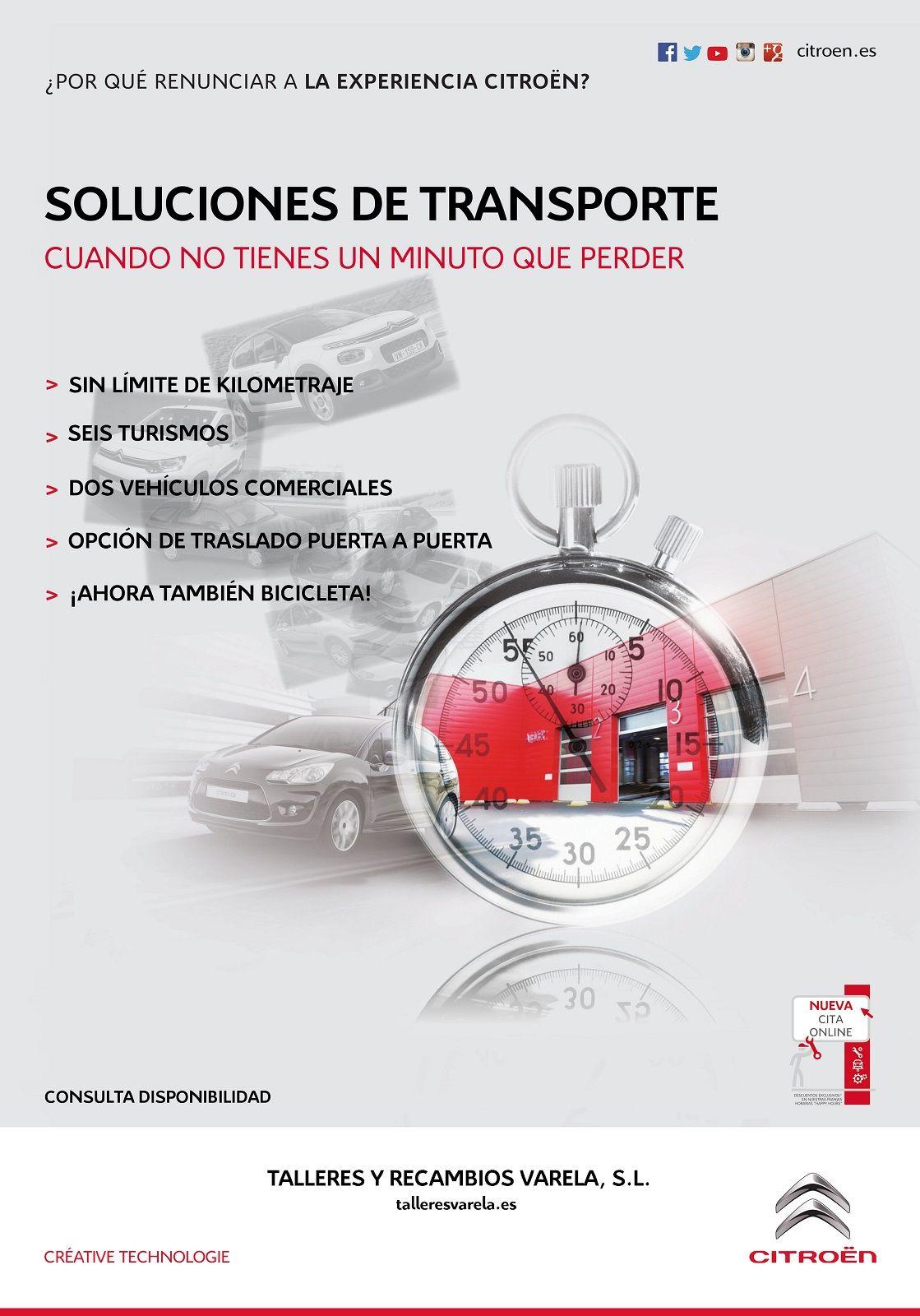 Solución de transporte