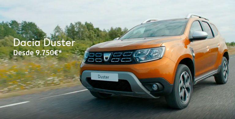 Dacia DUSTER 9.750€ hasta 31/05/2019