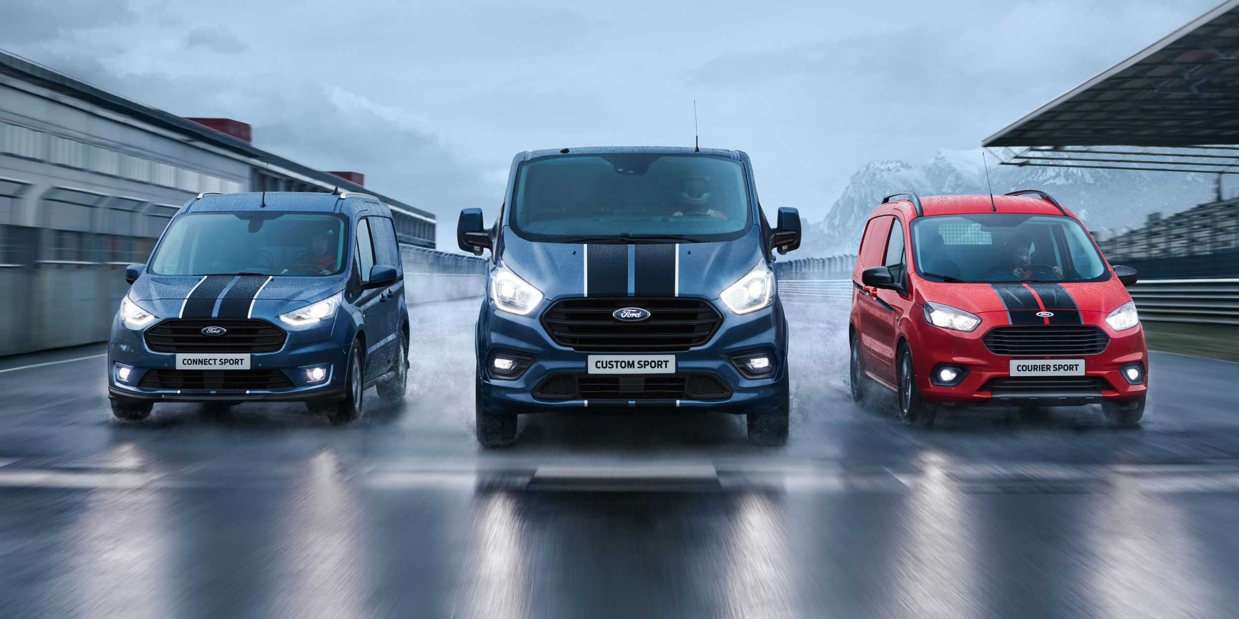 Commercial Vehicle Ford Transit Sport, setting new standards in.