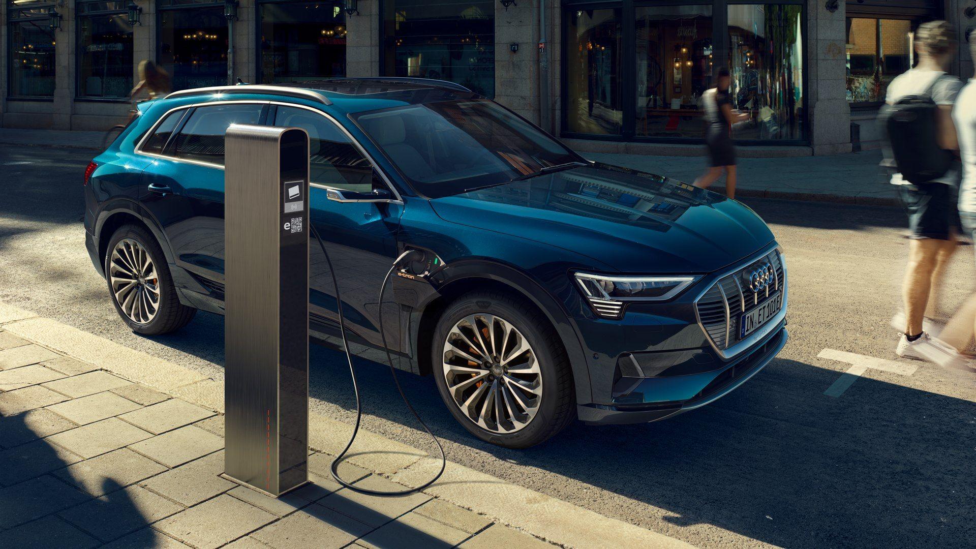 Audi e-tron en Garaje Dalmau