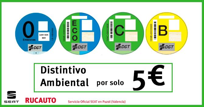 """Campaña """"Etiqueta Medioambiental"""" por solo 5€"""