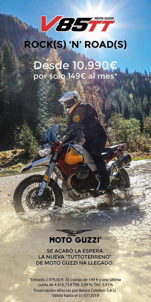 La nueva Moto Guzzi V85 TT puede ser tuya por sólo 149€/mes