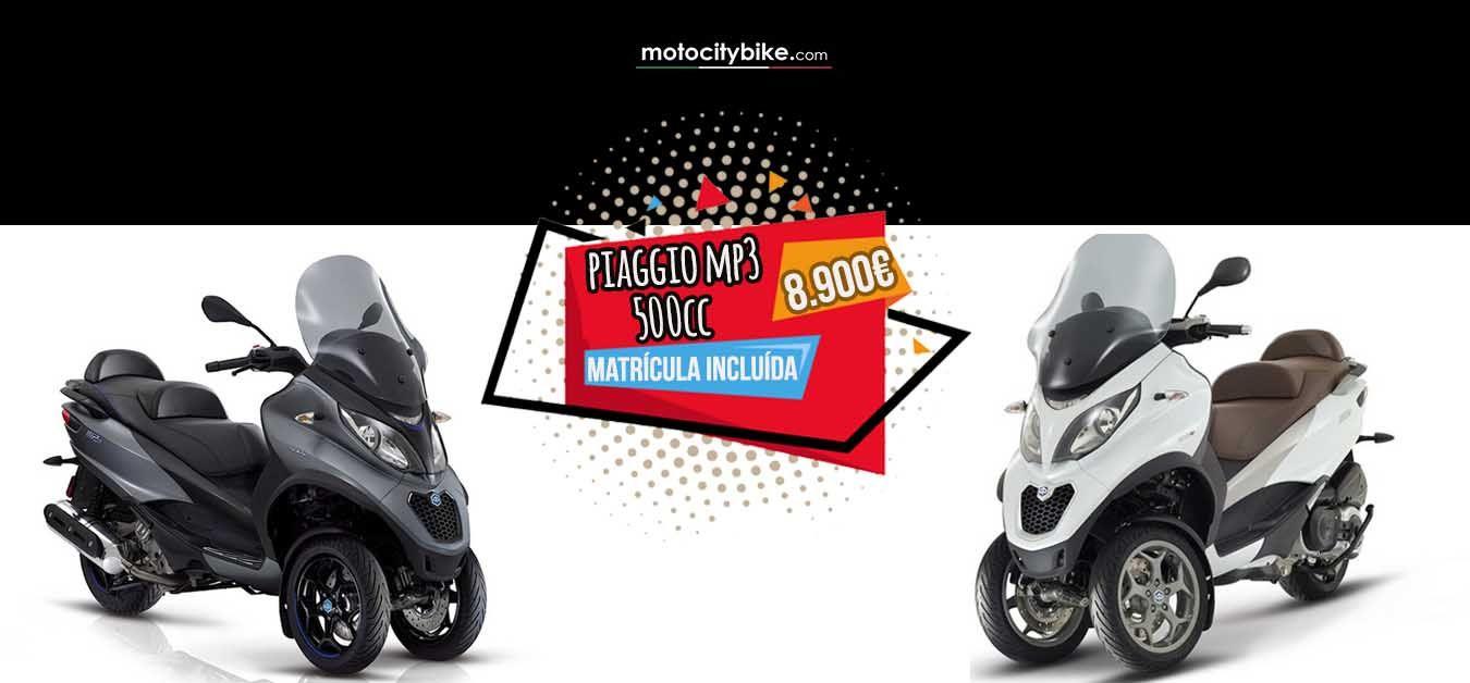 Oferta especial Piaggio Mp3 500cc