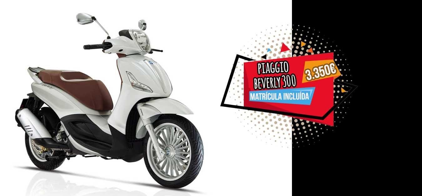 Oferta especial Piaggio beverly 300