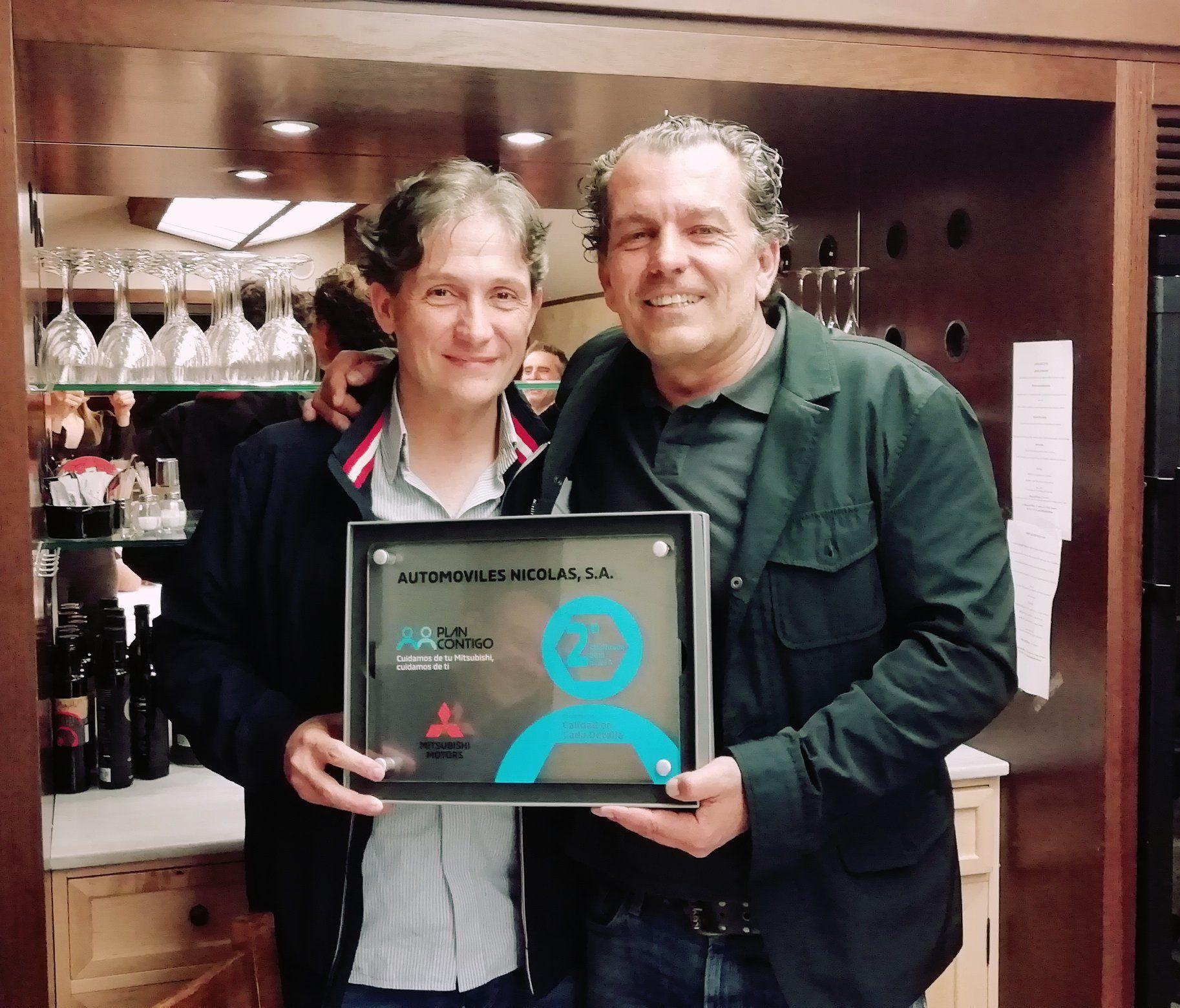 """Automóviles Nicolás recibe el premio """"Calidad en cada detalle"""""""