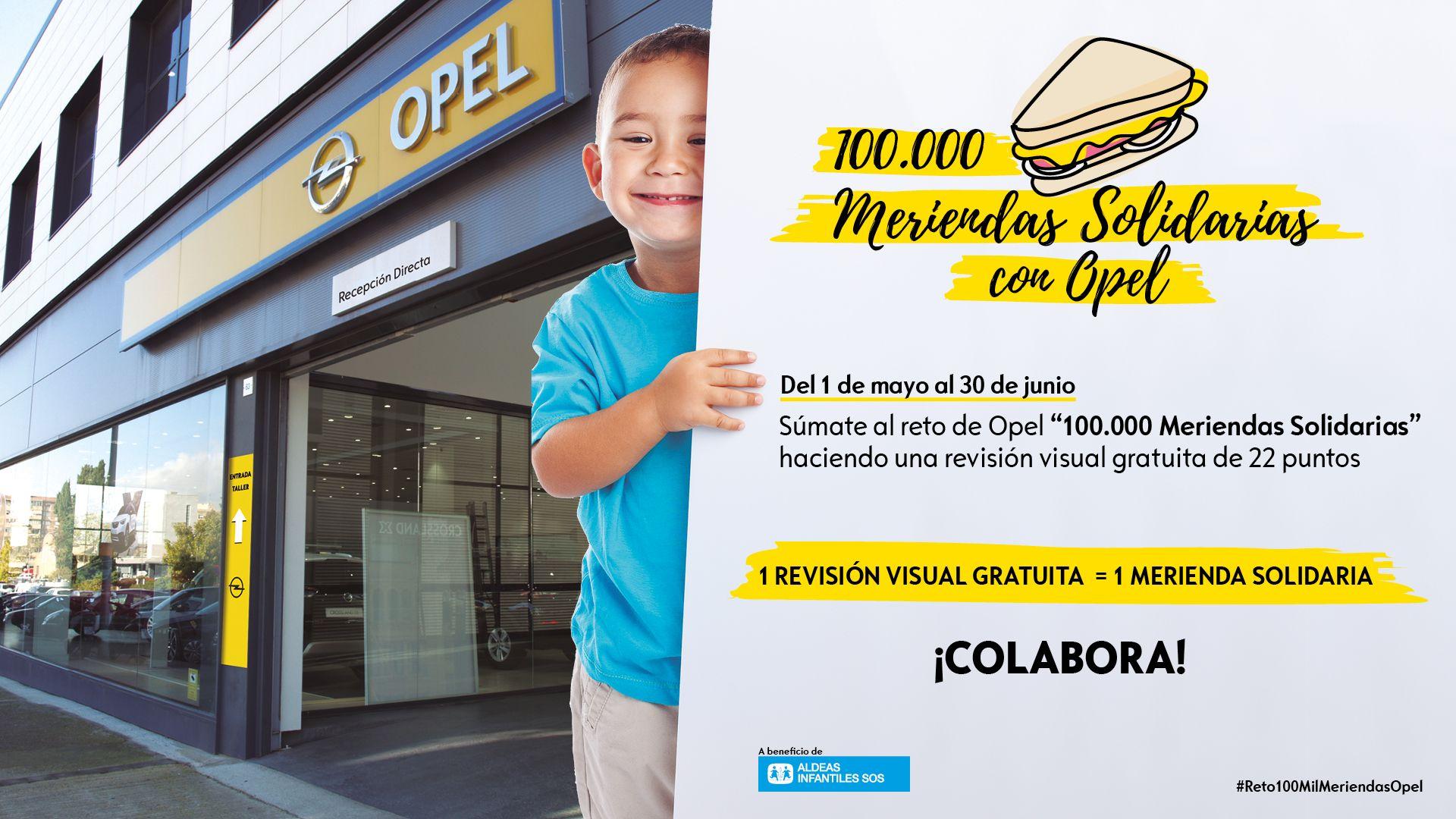 SACA EL LADO SOLIDARIO DE TU OPEL