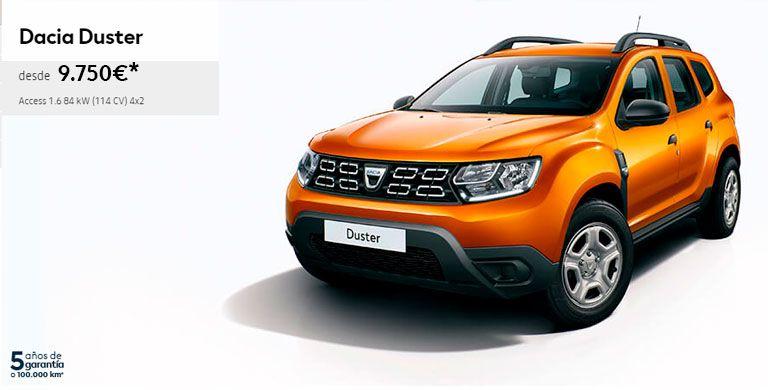 Nuevo Dacia DUSTER hasta el 31/05/2019