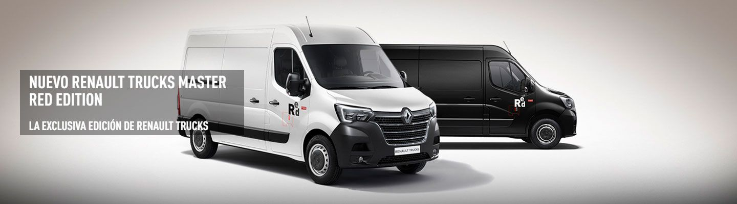 NUEVO RENAULT TRUCKS MASTER RED EDITION