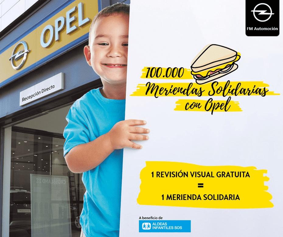 Saca el lado Solidario de tu Opel con FM Automoción