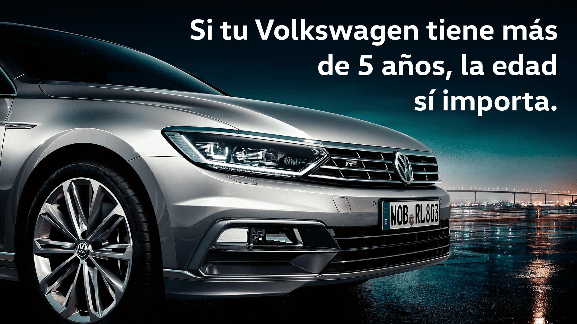 En Garaje Dalmau LA EDAD SI IMPORTA. Campaña VW SERVICE 2019