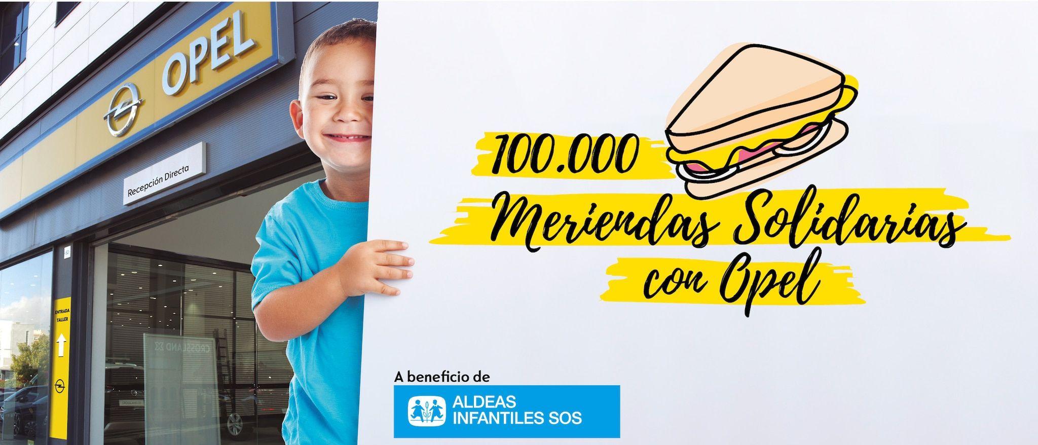 Suma't al repte 100.000 berenars solidaris amb Opel