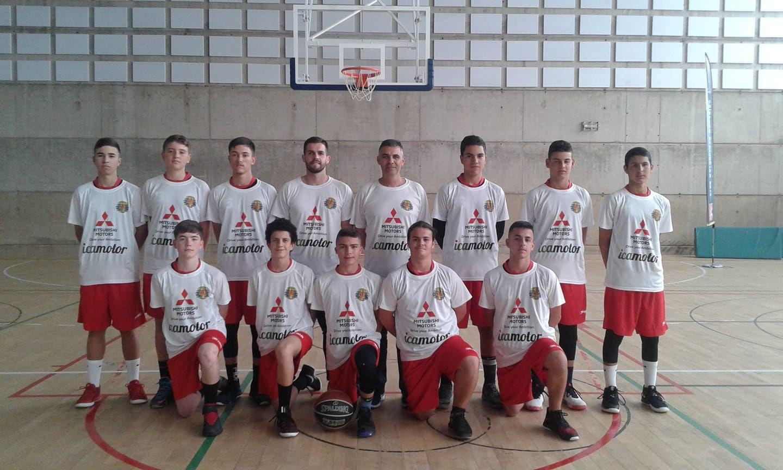 Mitsubishi con el deporte: Esbisoni de Gran Canaria en la Final del Campeonato de Canarias de Baloncesto