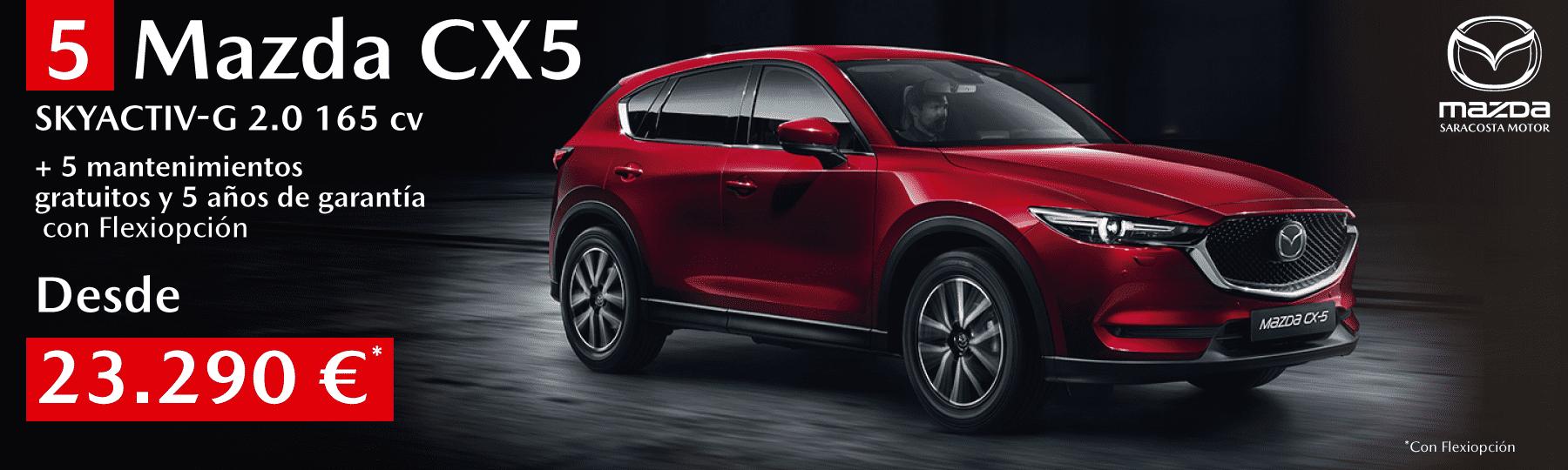 5 unidades de Mazda CX5 2019 CX5 desde 23.290 €/ud