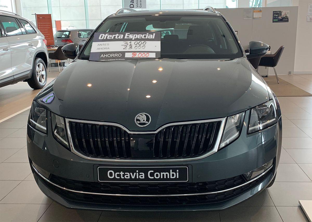 Aprovecha nuestra venta especial. Skoda Octavia Combi, ahora por 8.000€ menos!