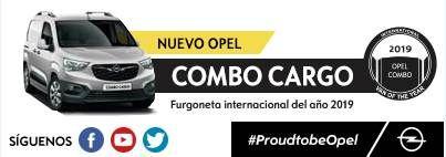 Nuevo Opel Combo Cargo con tracción total. Furgoneta internacional del año 2019