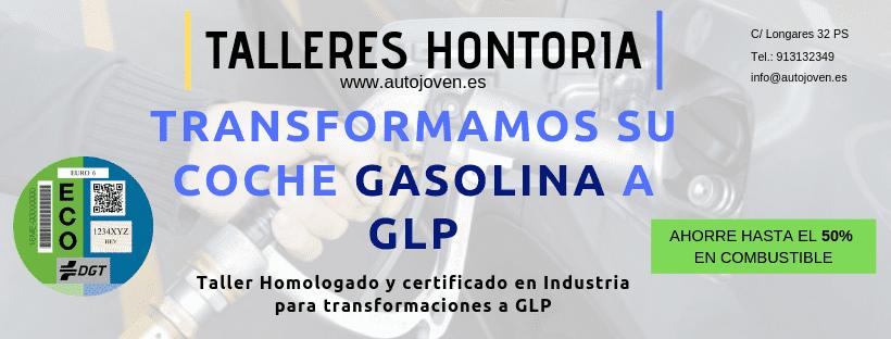 Transformamos su coche gasolina a GLP