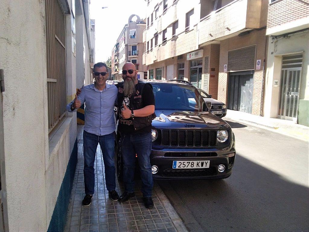Entrega de vehículo en Barcelona