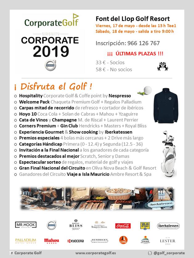 Ankara Motor patrocinará el Circuito Corporate Golf 2019