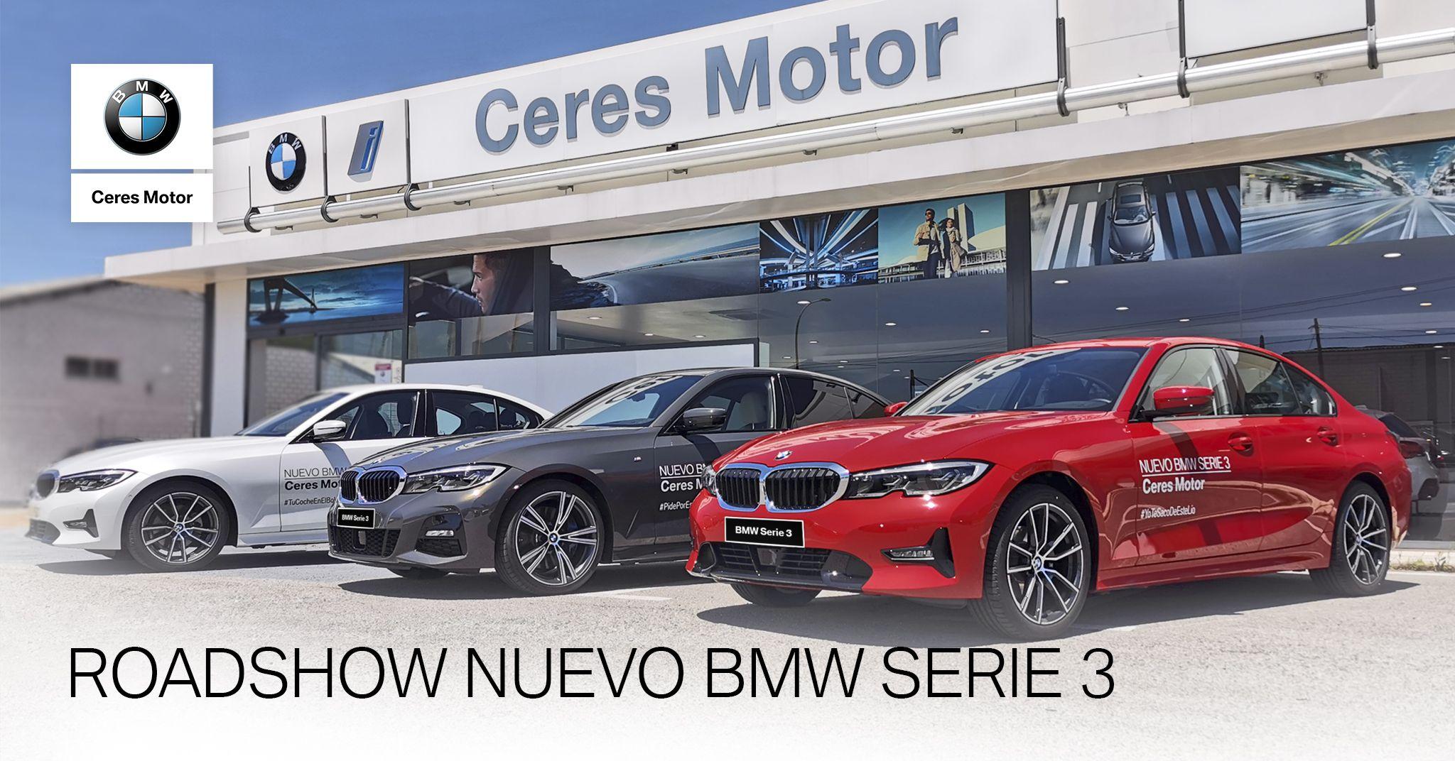 VEN A PROBAR EL NUEVO BMW SERIE 3