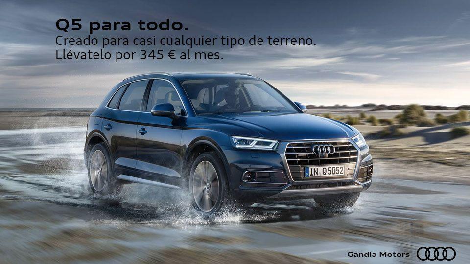 Llévate este Audi Q5 por 345 al mes