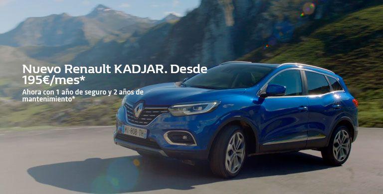 Nuevo Renault KADJAR hasta 31/05/2019