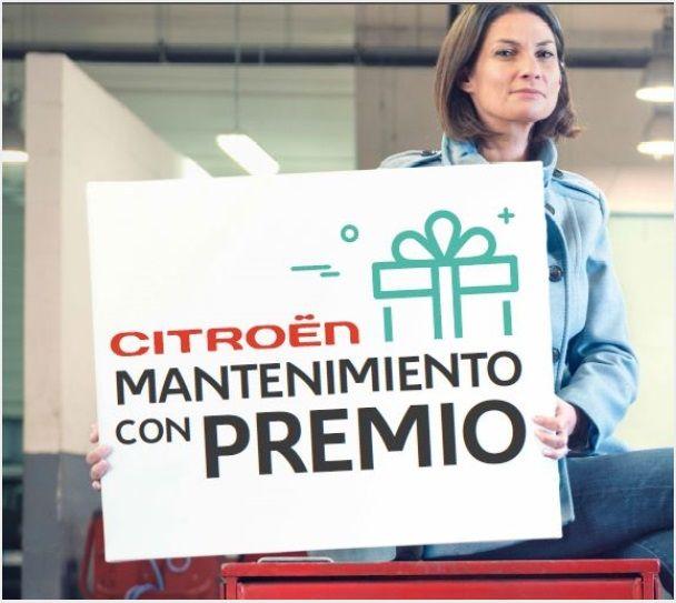 CITROËN MANTENIIENTO CON PREMIO